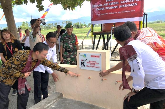 Taiwan continues its commitment to the post-quake recovery and reconstruction in Central Sulawesi, Indonesia