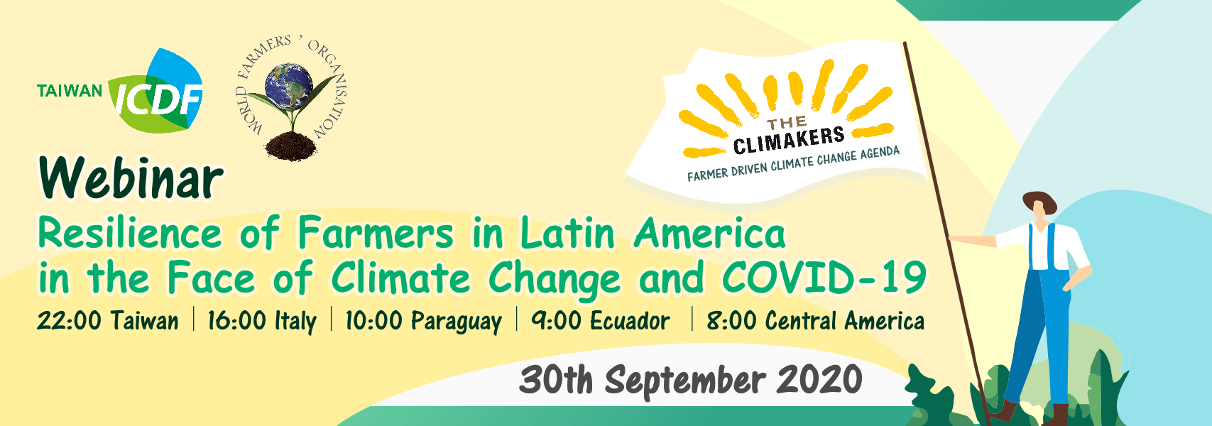 Resilience of Farmers in Latin America in the Face of Climate Change and COVID-19