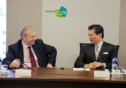 Secretary General of the International IDEA Yves Leterme visits TaiwanICDF