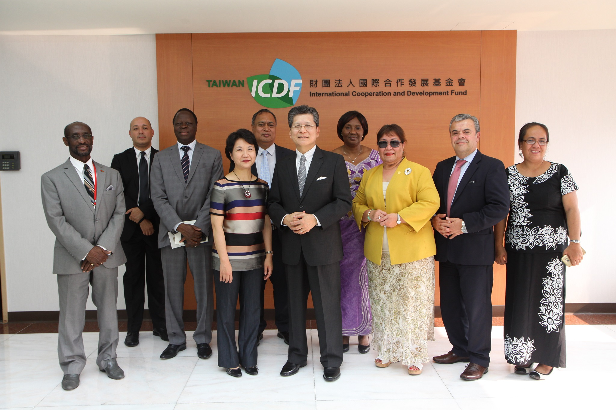 Permanent Representatives to the United Nations Visit the TaiwanICDF