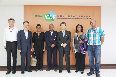 Deputy Prime Minister of St. Vincent and the Grenadines Sir Louis Hilton Straker Visits TaiwanICDF