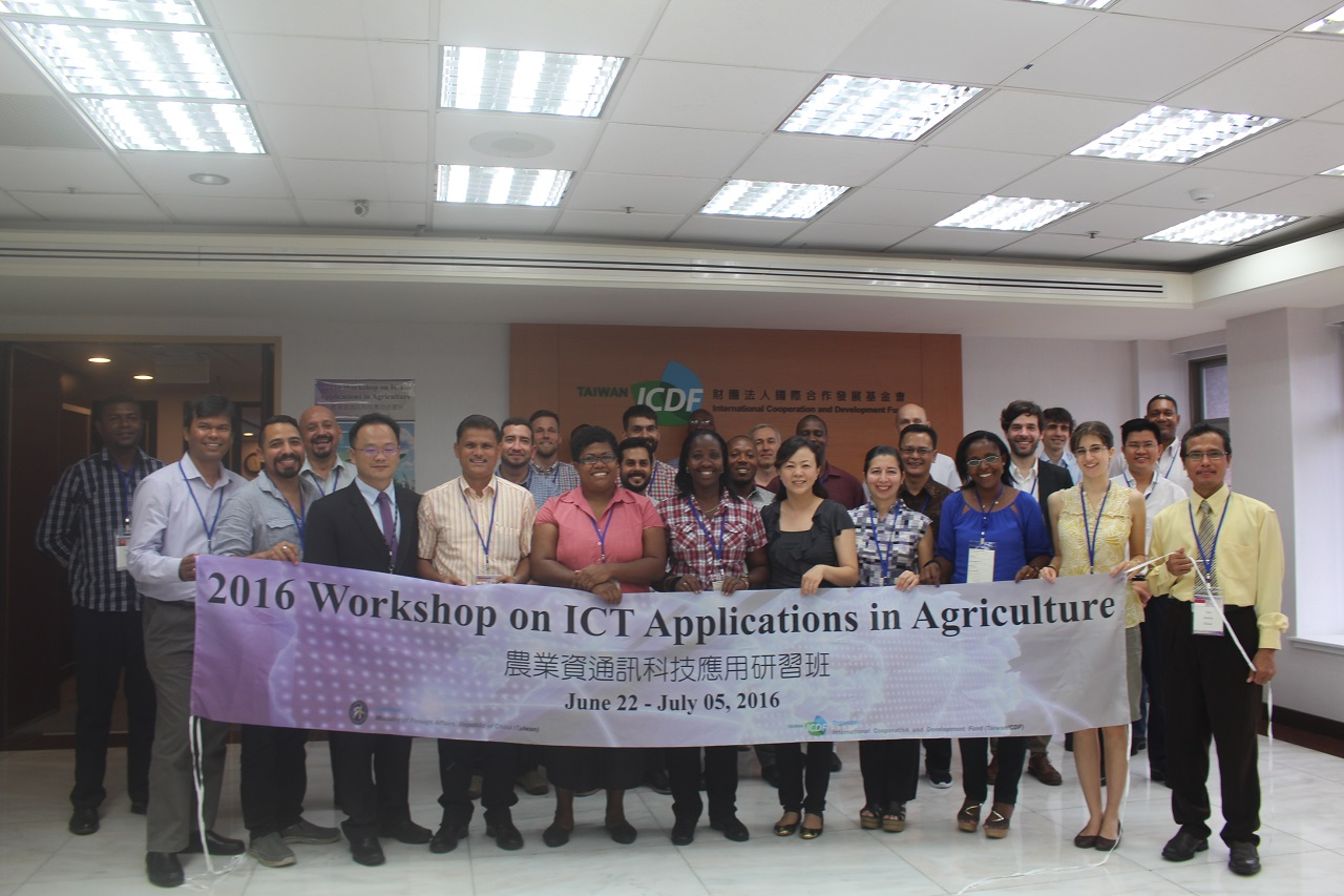 The TaiwanICDF organizes Workshop on ICT Applications in Agriculture to Assist Partner Countries to Develop E-Agriculture