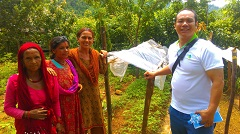 Horticultural Expert Dispatched to Improve Food Security in Nepal