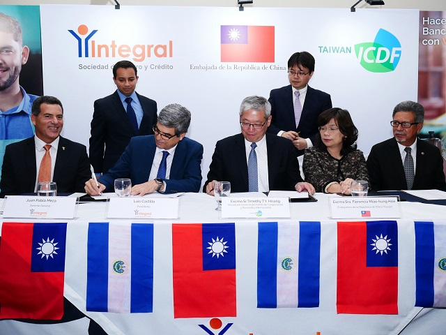 TaiwanICDF to cooperate with Salvadoran financial institution in supporting access to finance for micro and small enterprises in El Salvador