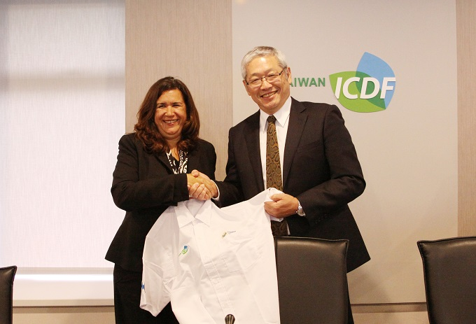 Minister of Environment and Natural Resources of El Salvador Visits the TaiwanICDF