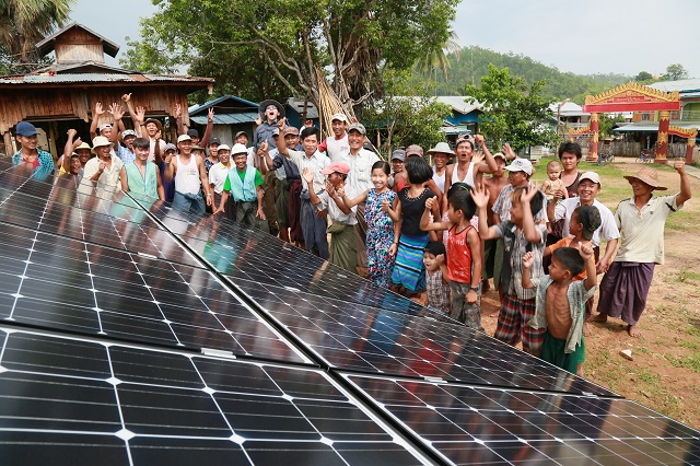TaiwanICDF project lights up rural Myanmar