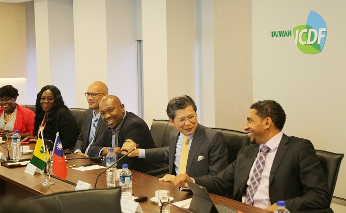 Delegation from St. Vincent and the Grenadines Visits TaiwanICDF