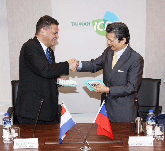Speaker of Paraguay's Congress Visits the TaiwanICDF