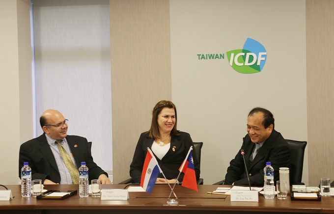 Vice Minister of Health of Paraguay Visits the TaiwanICDF