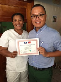 TaiwanICDF assists Belizean nurses in acquiring professional certification