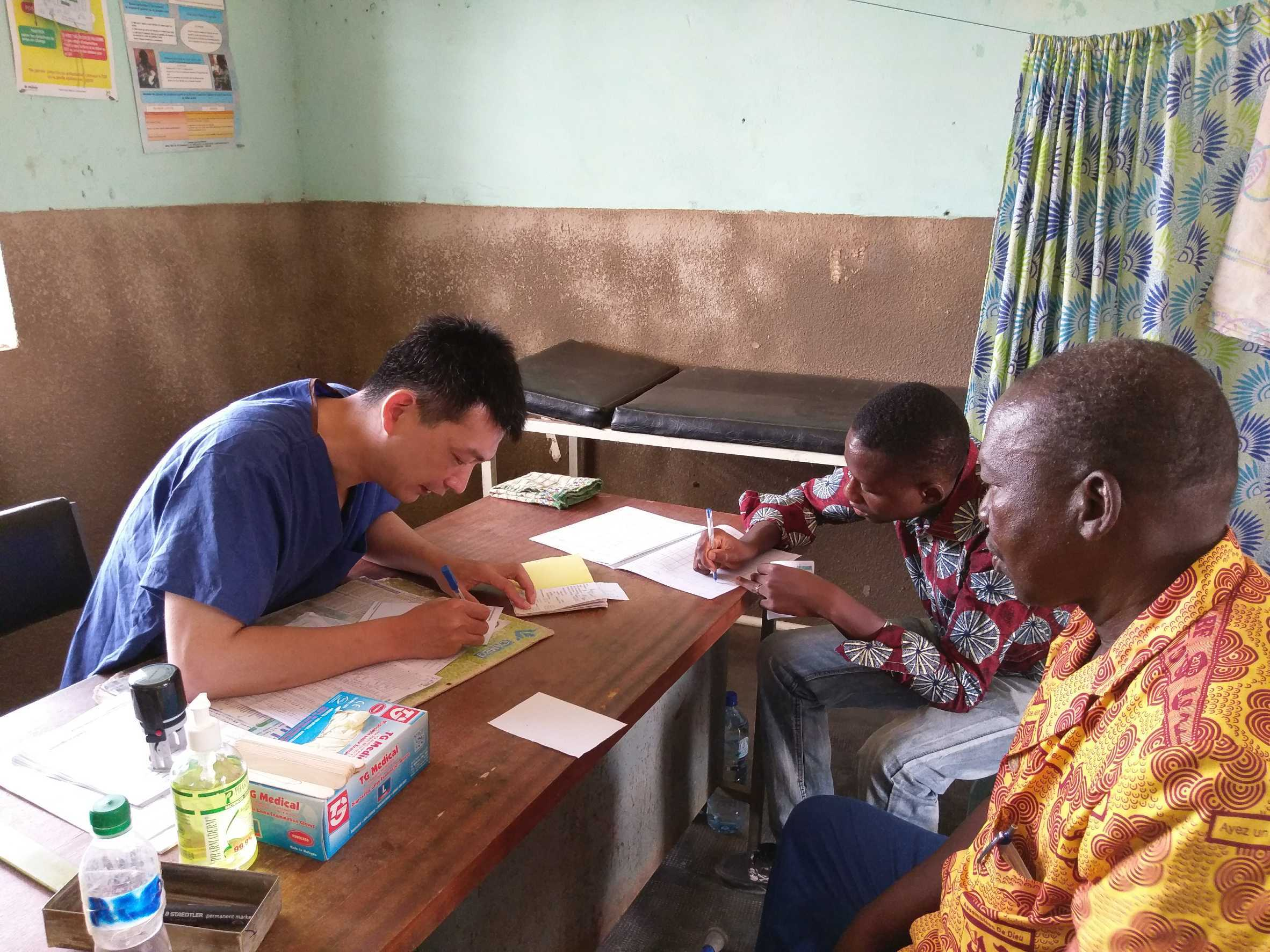 Urologist and Intensive Care Specialist Joins Burkina Faso Medical Mission