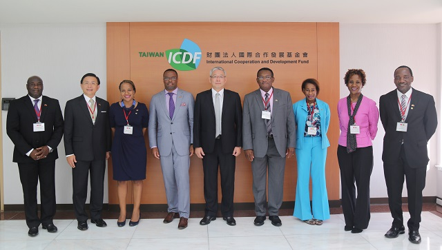 St. Kitts and Nevis' Minister of Foreign Affairs Visits the TaiwanICDF