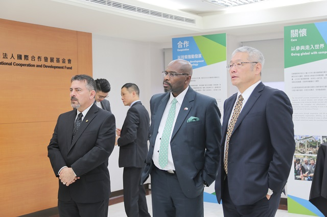 Guatemalan Minister of Environment and Natural Resources Visits the TaiwanICDF