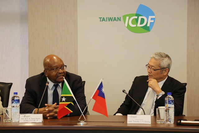 Governor-General of St. Kitts and Nevis Visits the TaiwanICDF