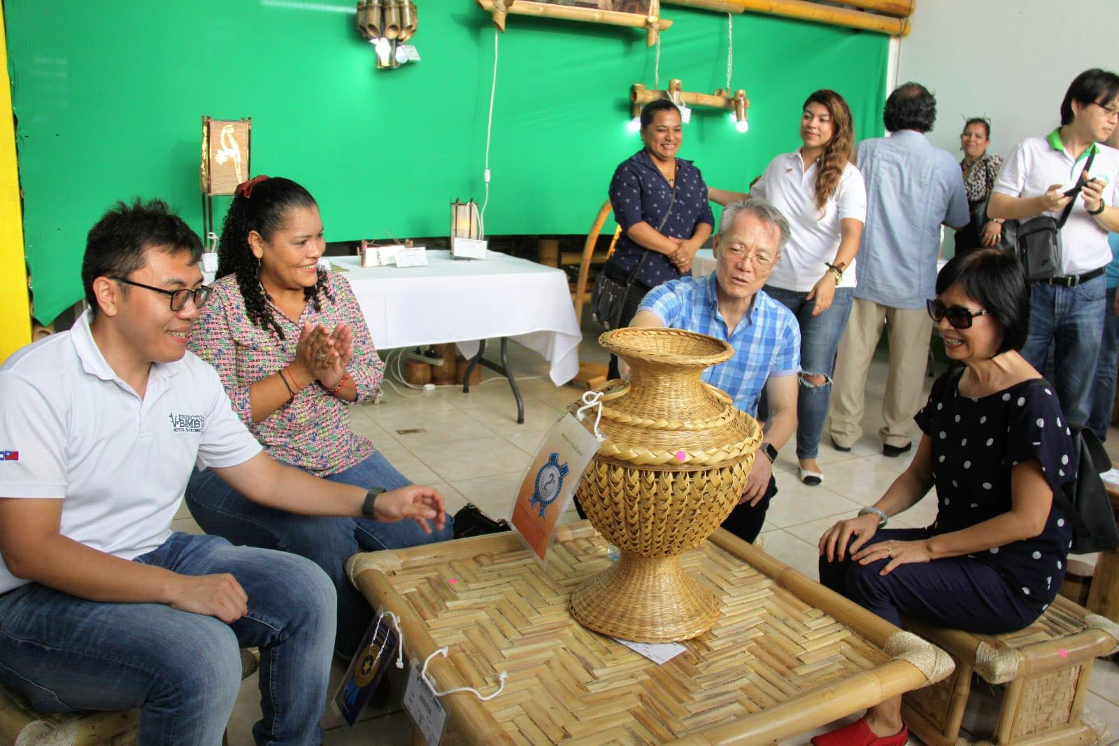 Integrating tradition and innovation, TaiwanICDF helps Nicaragua pass down bamboo crafts
