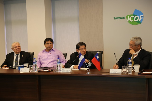 Minister of Foreign Affairs and Minister of Youth of Nicaragua Visit the TaiwanICDF
