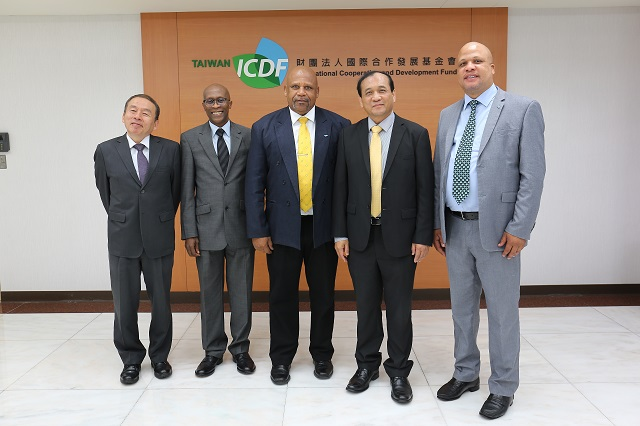 Ministers for Agriculture, Fisheries, Physical Planning, Natural Resources and Co-operatives of Saint Lucia Visit the TaiwanICDF