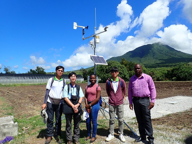 Integrating meteorological and agricultural technologies to assist St. Kitts and Nevis in climate adaptation and resilience
