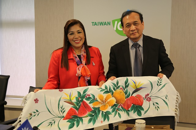 Deputy Minister of Commerce and Industry of El Salvador Visits the TaiwanICDF