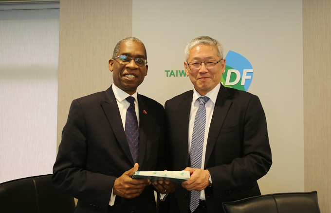 Minister of Foreign Affairs of Haiti Visits the TaiwanICDF