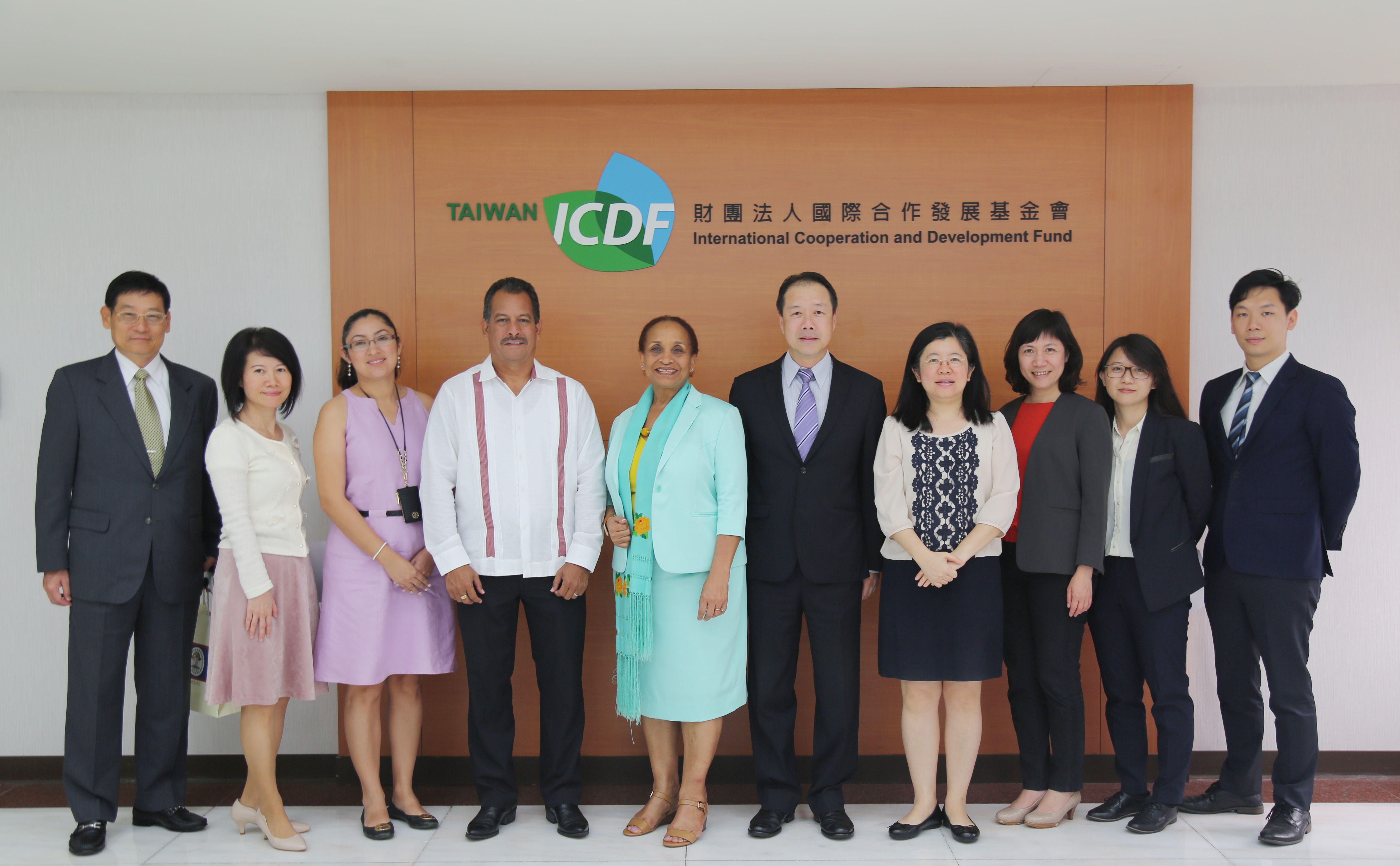 Belize Minister of Health Visits the TaiwanICDF