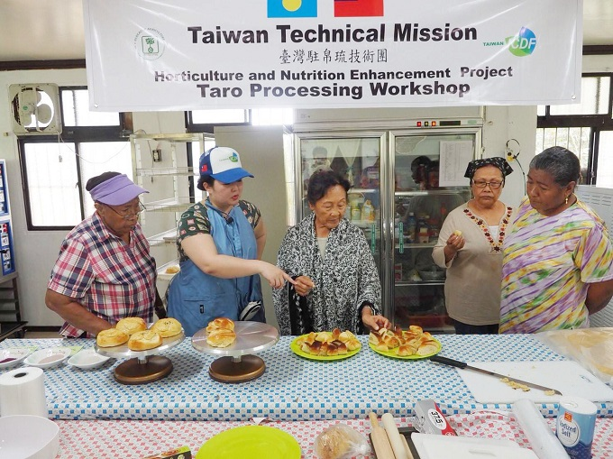 TaiwanICDF helps create new value for taro in Palau