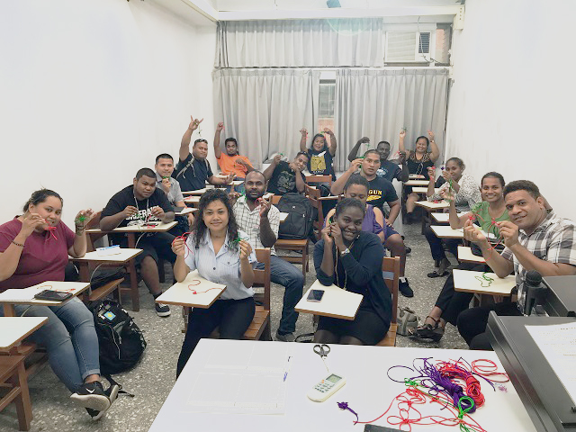 Pacific Island Youth learn Mandarin Chinese and experience local culture in Taiwan