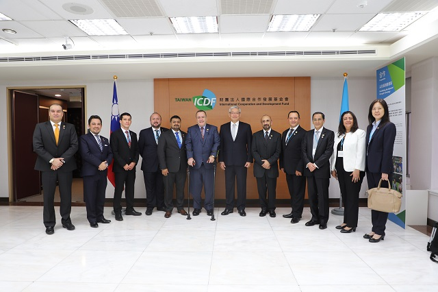 Delegation led by H.E. Dr. Alejandro Eduardo Giammattei, President-elect of Guatemala Visits the TaiwanICDF