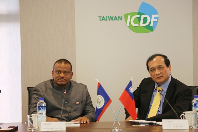 Belize Deputy Prime Minister and Minister of Education, Youth, Sports and Culture Visits the TaiwanICDF