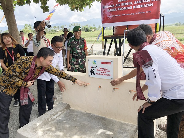 TaiwanICDF and Mercy Corps hand over project for earthquake recovery in Central Sulawesi Indonesia to the local communities
