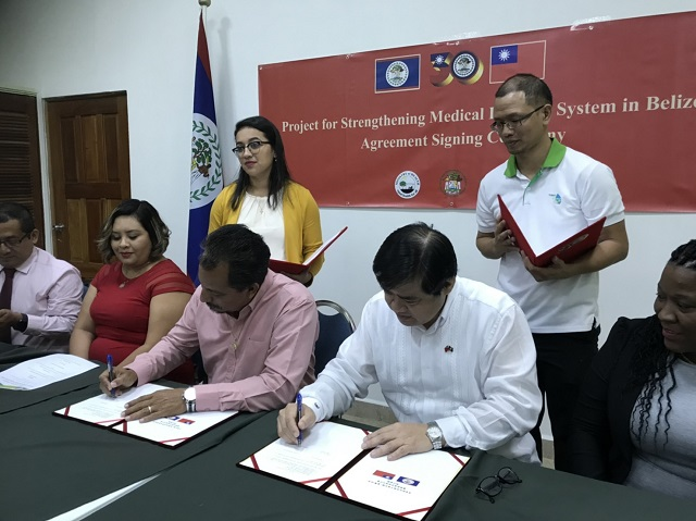 TaiwanICDF cooperates with Far Eastern Memorial Hospital once more, helping Belize to initiate a new chapter on medical imaging services