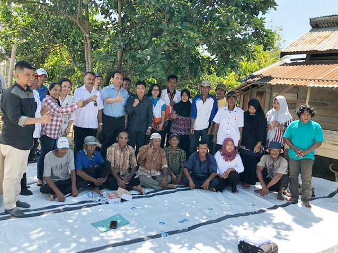 TaiwanICDF and World Vision assist earthquake-affected households in Indonesia in livelihood recovery
