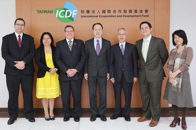 Deputy Minister of Foreign Affairs of Honduras Visits the TaiwanICDF