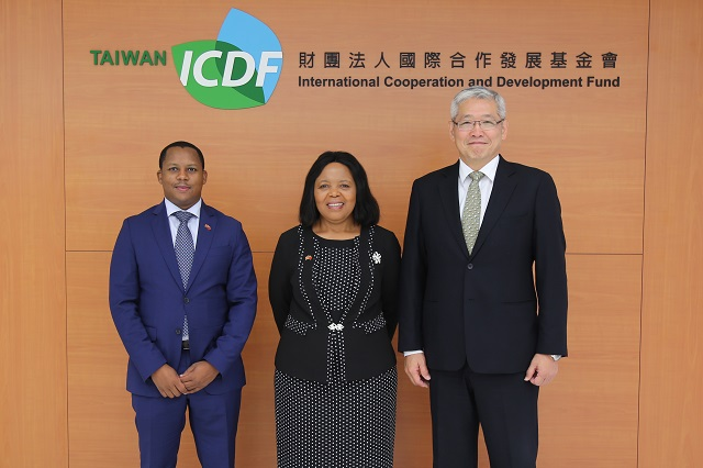 Eswatini Minister of Health Visits the TaiwanICDF