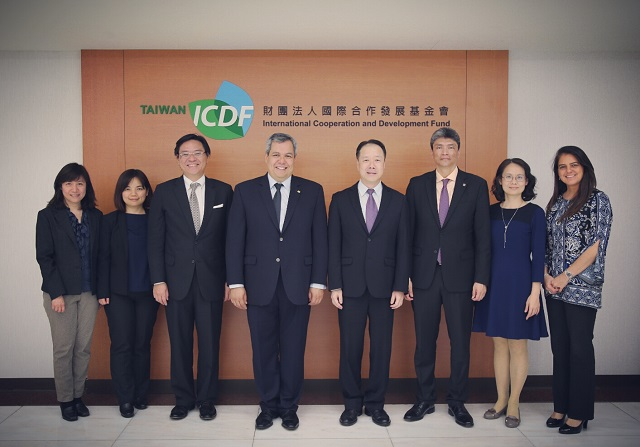 Executive President of CABEI visits the TaiwanICDF