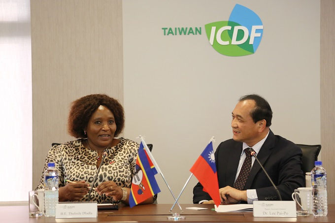 Minister of Foreign Affairs and International Cooperation of the Kingdom of Eswatini Visits the TaiwanICDF