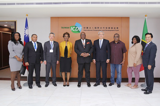 Prime Minister of St. Kitts and Nevis Visits the TaiwanICDF