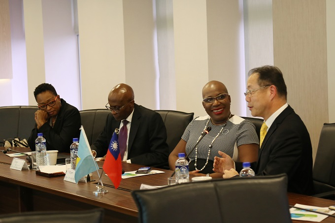 Minister for Education, Innovation, Gender Relations and Sustainable Development of Saint Lucia Visits the TaiwanICDF
