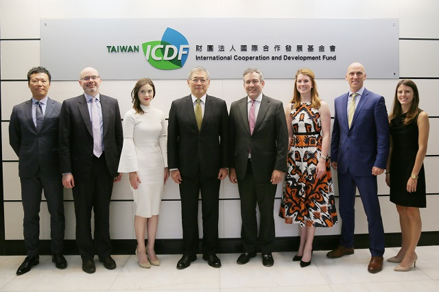 Delegation led by Acting President and CEO of OPIC Visits TaiwanICDF