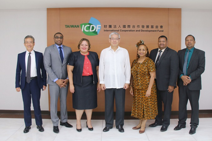 Minister of State, Ministry of Investment, Trade and Commerce of Belize Visits the TaiwanICDF
