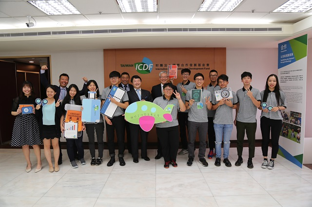 Young and adventurous – TaiwanICDF's first overseas interns all set to go abroad