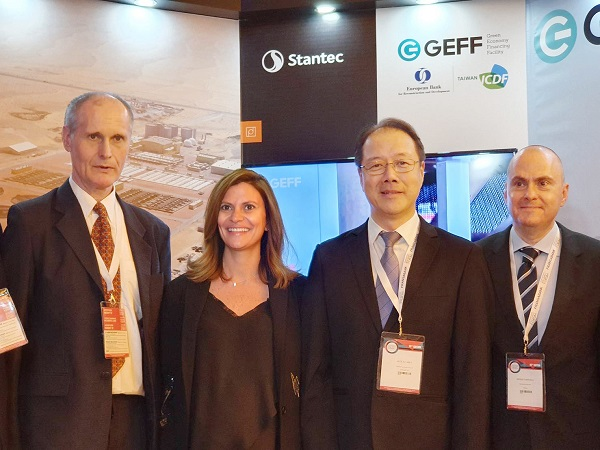 TaiwanICDF Deputy Secretary General, Mr. Alex L. J Shyy participates in International Beirut Energy Forum and promotes TaiwanICDF's green finance cooperation with EBRD