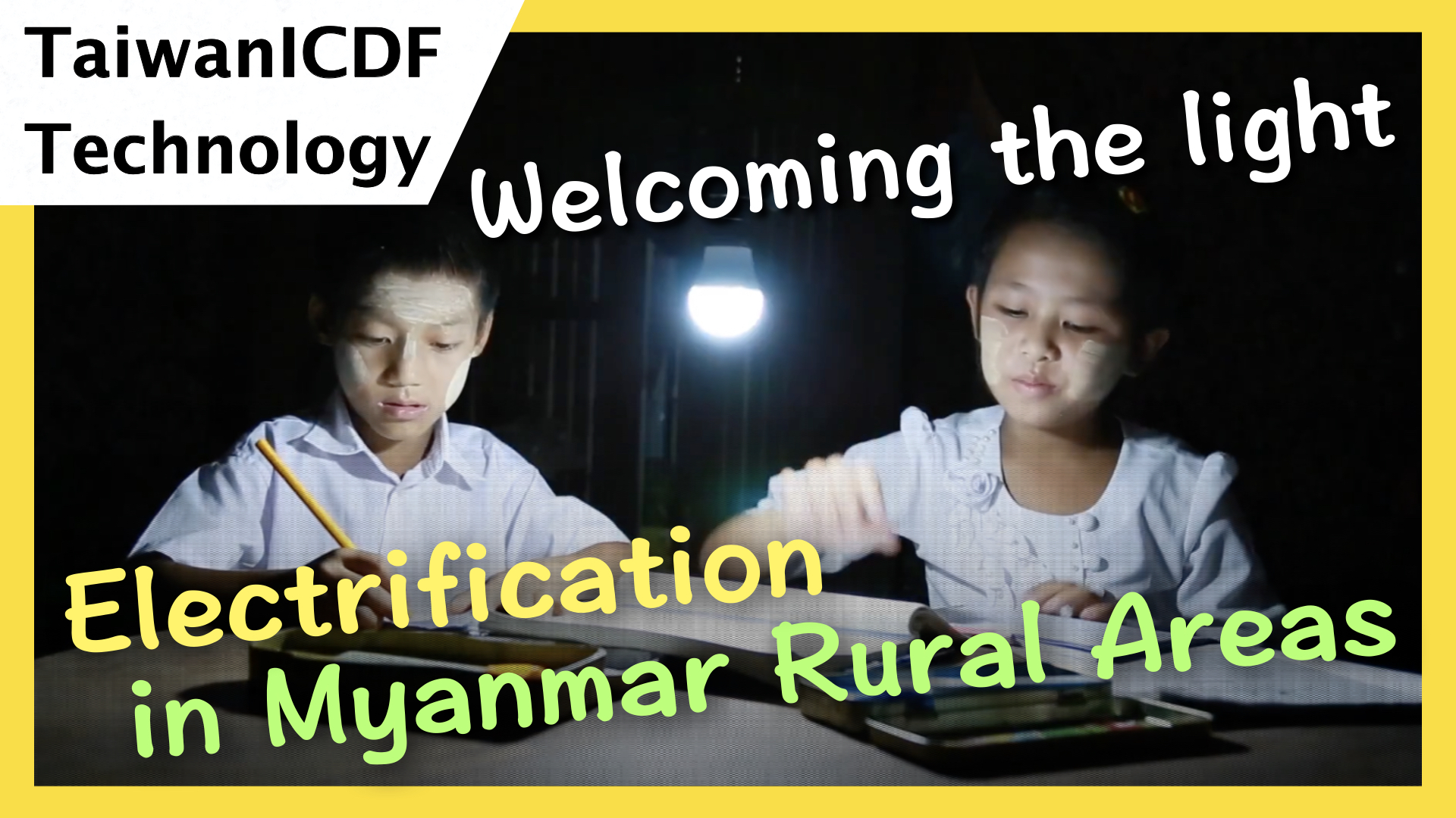 Welcoming the Light --- Solar PV Mini-Grid System for Lighting in Myanmar Rural Areas
