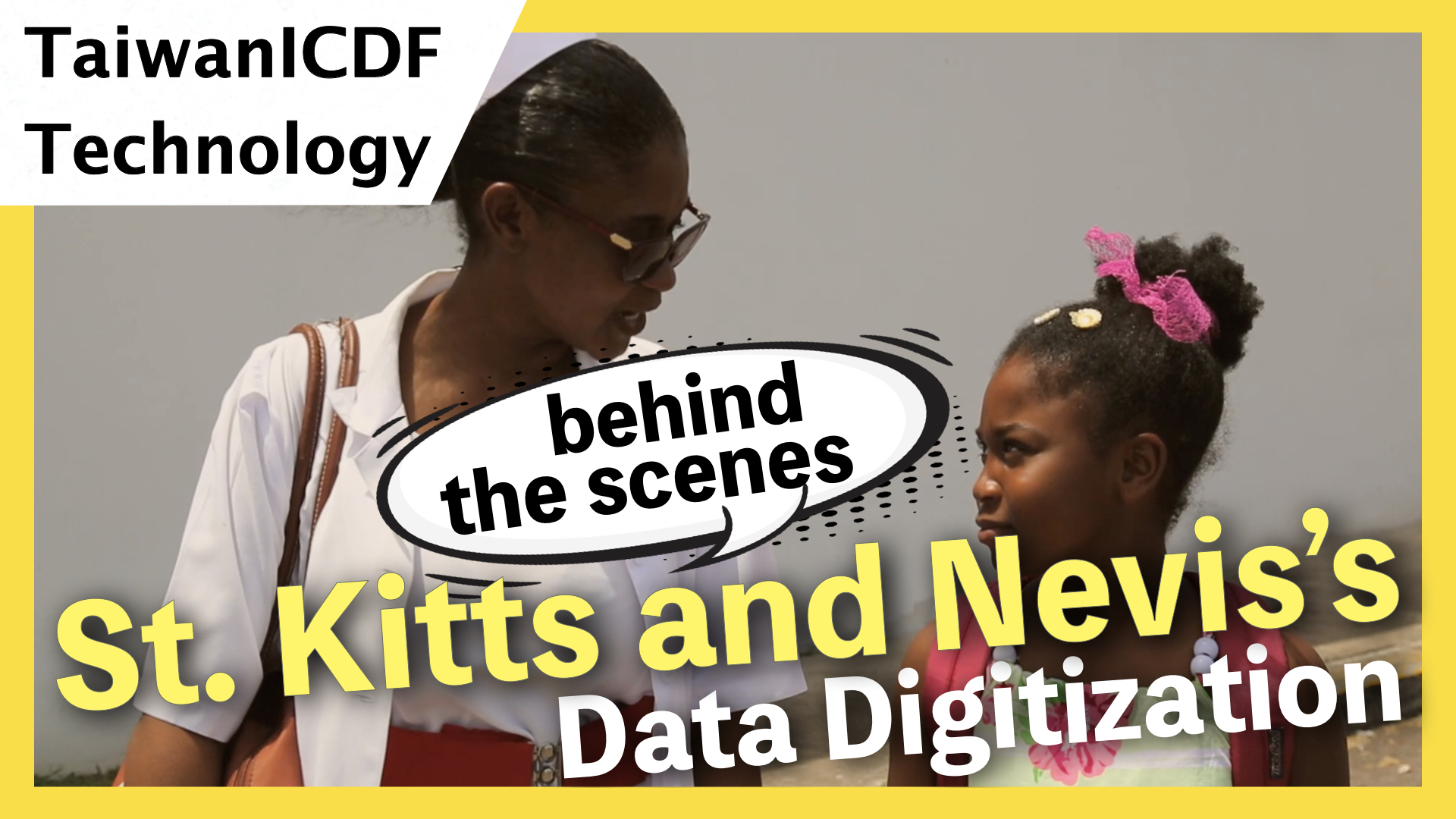 ICT Project in St. Kitts and Nevis- Behind the scenes