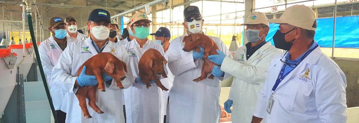Grand Opening of New Porcine Reproduction Center in Comayagua, Honduras