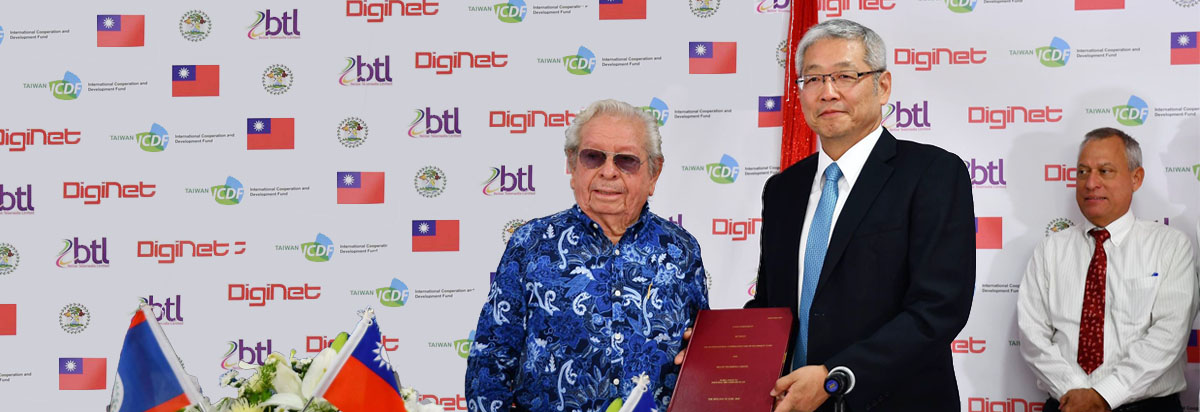 TaiwanICDF helps Belize to bring broadband fiber connection to homes nationwide